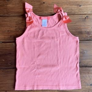 Gymboree Peach Ribbed Tank Top